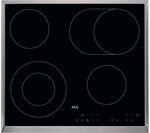 AEG HK634060XB Electric Ceramic Hob - Black