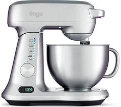 SAGE Scraper BEM800UK Stand Mixer - Silver