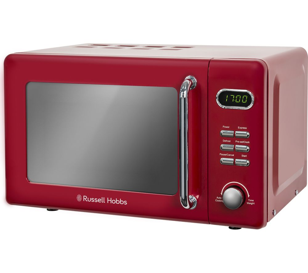 RUSSELL HOBBS RHRETMD706R Solo Microwave - Red