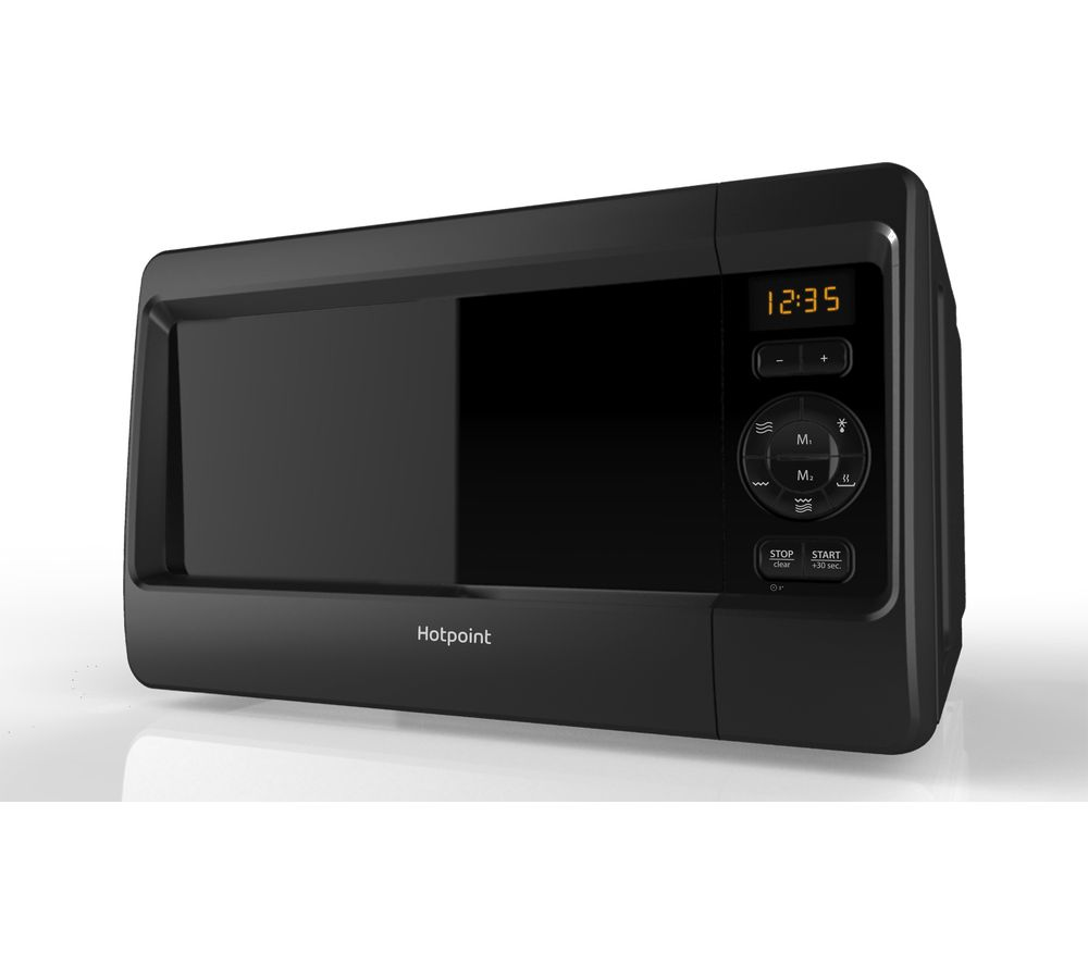 HOTPOINT HD Line 4 MWH 2421 Solo Microwave - Black