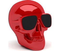 JARRE Aero Skull Nano ML80115 Wireless Portable Speaker - Red