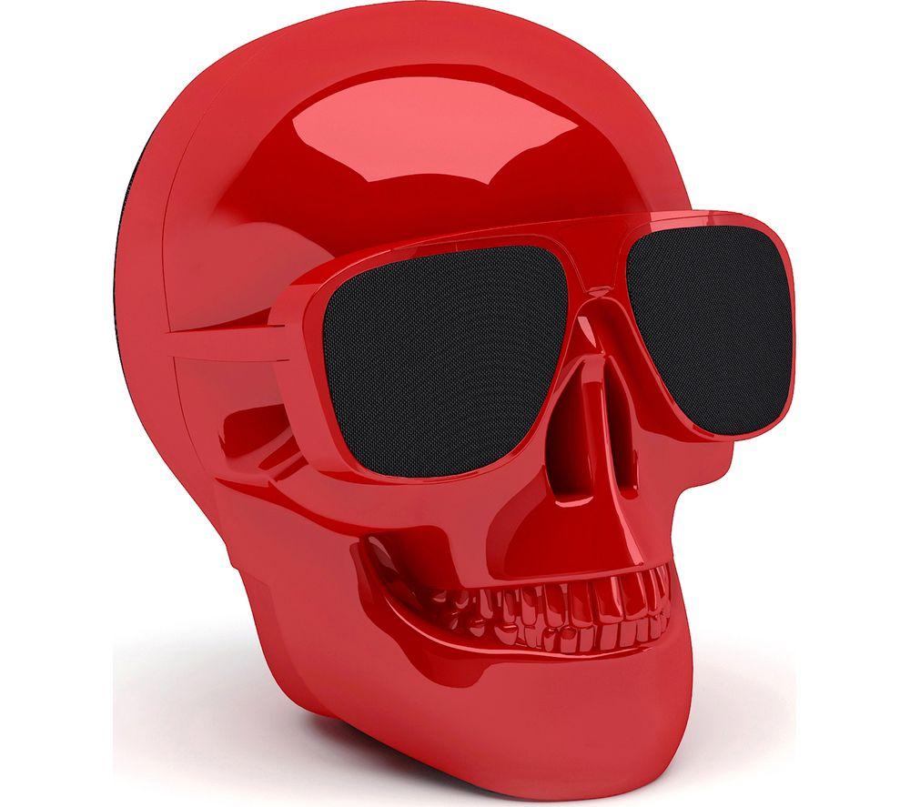 JARRE Aero Skull Nano ML80115 Wireless Portable Speaker - Red