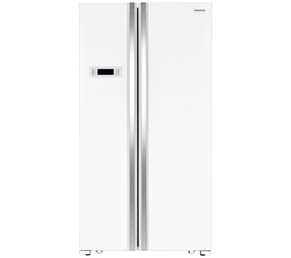 KENWOOD KSBSW17 American-Style Fridge Freezer - White Fast Delivery |  Currysie