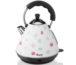 SWAN Pyramid SK261030POLN Traditional Kettle - Polka Dot