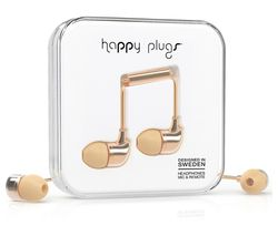 HAPPY PLUGS Deluxe Edition Headphones - Champagne