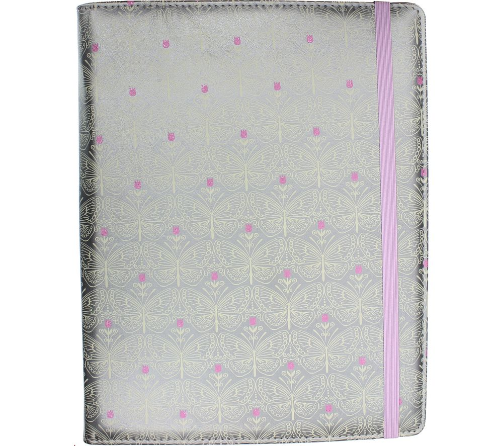 """ACCESSORIZE Silver Butterfly 10"""" Tablet Case"""