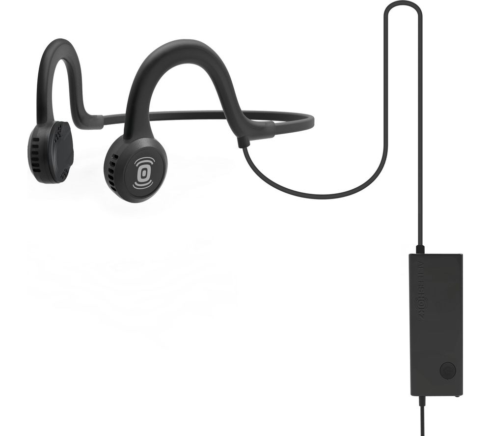 AFTERSHOKZ Sportz Titanium Headphones - Black & Grey