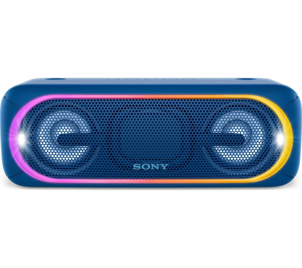 SONY EXTRA BASS SRS-XB40 Portable Bluetooth Wireless Speaker - Blue