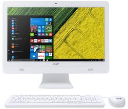 "ACER Aspire C20-720 19.5"" Intel® Pentium® All-in-One PC - 1 TB HDD, White"