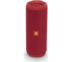 JBL Flip 4 Portable Bluetooth Wireless Speaker - Red