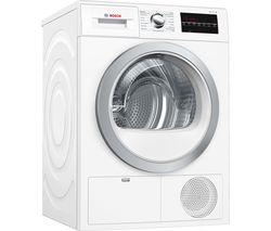 Serie 6 WTG86402GB Condenser Tumble Dryer - White