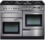 RANGEMASTER Professional+ 110 Gas Range Cooker - Stainless Steel