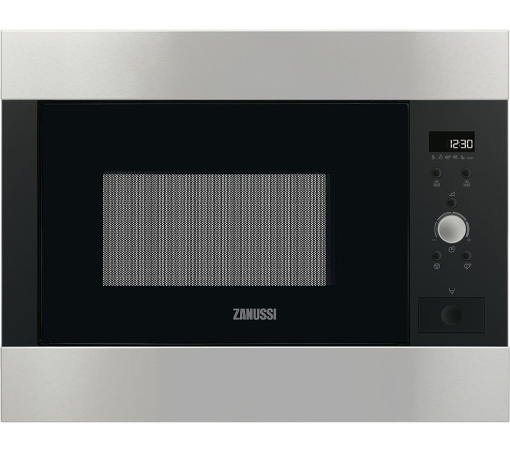 ZANUSSI ZBM26642XA Built-in Solo Microwave - Stainless Steel