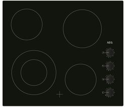 AEG HRA64100CB Electric Ceramic Hob - Black