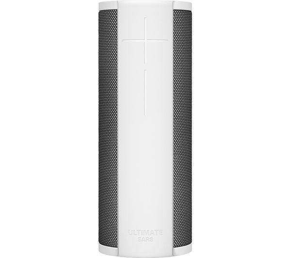 Image of ULTIMATE EARS MEGABLAST Portable Bluetooth Wireless Speaker with Amazon Alexa - Blizzard