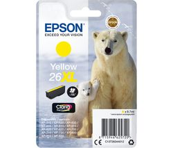 EPSON Polar Bear 26XL Yellow Ink Cartridge