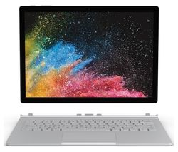 "MICROSOFT Surface Book 2 13.5"" Intel® Core™ i7 – 512 GB SSD, Silver"