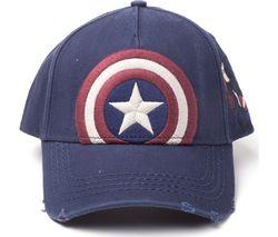 CAPTAIN AMERICA Vintage Adjustable Cap - Blue
