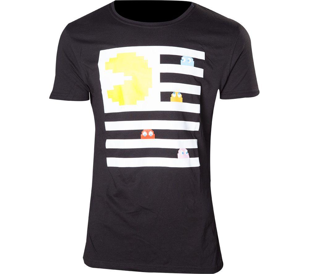 Photo of Pacman ghosts t-shirt - medium- black- black