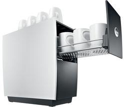Cup Warmer - Silver & Black