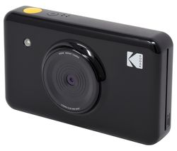 Mini Shot Digital Instant Camera - Black