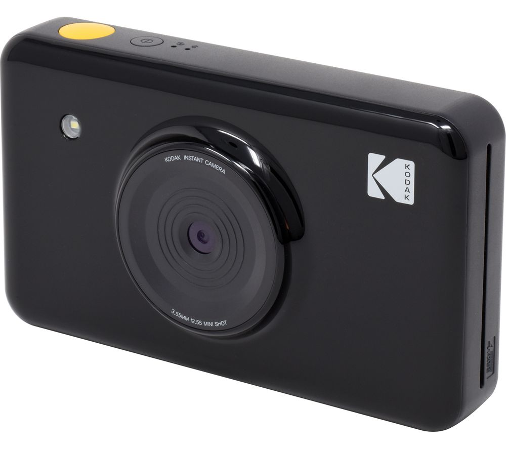 buy kodak mini shot digital instant camera black free delivery currys. Black Bedroom Furniture Sets. Home Design Ideas