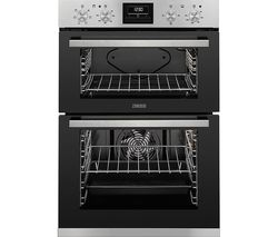 ZANUSSI ZOD35660XK Electric Double Oven - Black & Stainless Steel