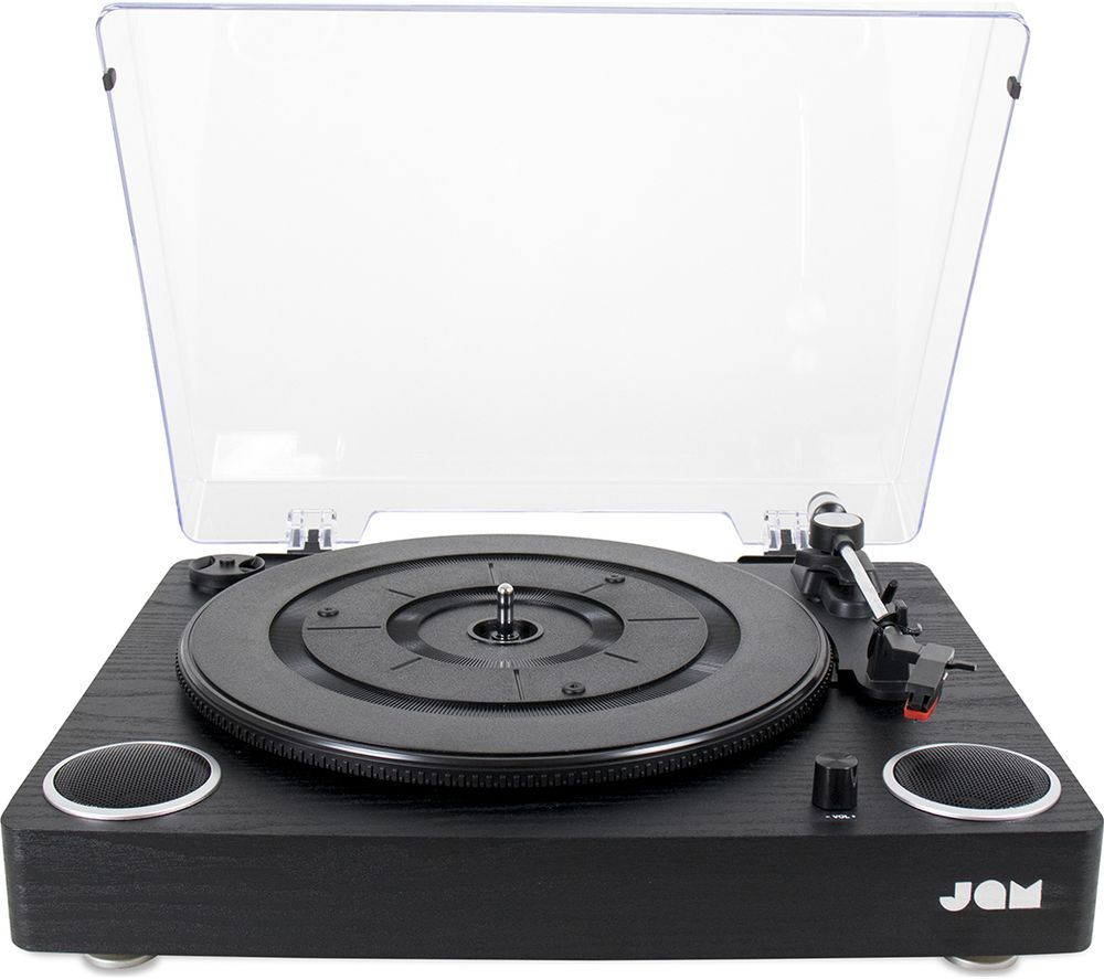 JAM Play HX-TTP300BWD Belt Drive Turntable - Black