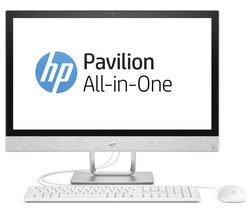 "HP Pavilion 24-r101na 24"" AMD Ryzen 5 All-in-One PC - 1 TB HDD, White"