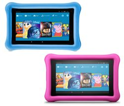 AMAZON Fire 7 Kids Edition Tablets Bundle - 16 GB, Blue & Pink