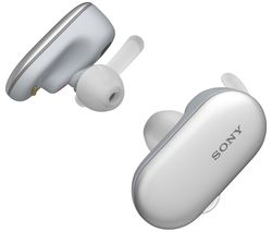 SONY WF-SP900W Wireless Bluetooth Headphones - White