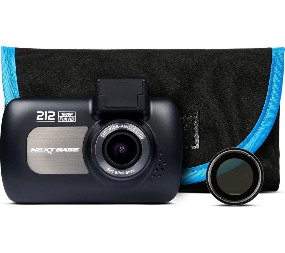 buy nextbase 212 lite dash cam with carry case. Black Bedroom Furniture Sets. Home Design Ideas