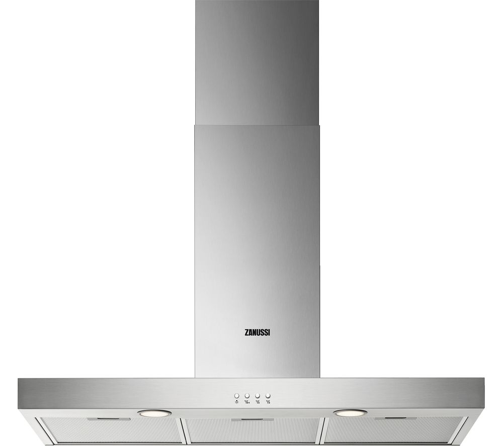 ZANUSSI ZHB92670XA Chimney Cooker Hood – Stainless Steel, Stainless Steel