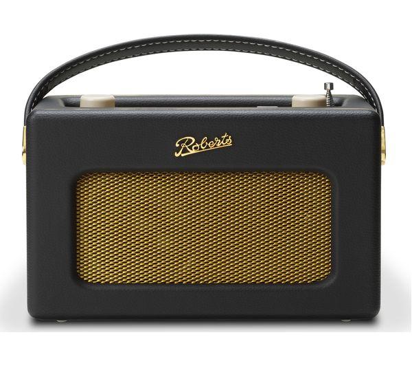Image of ROBERTS Revival iSTREAM3 Portable DAB+/FM Retro Smart Bluetooth Radio - Black