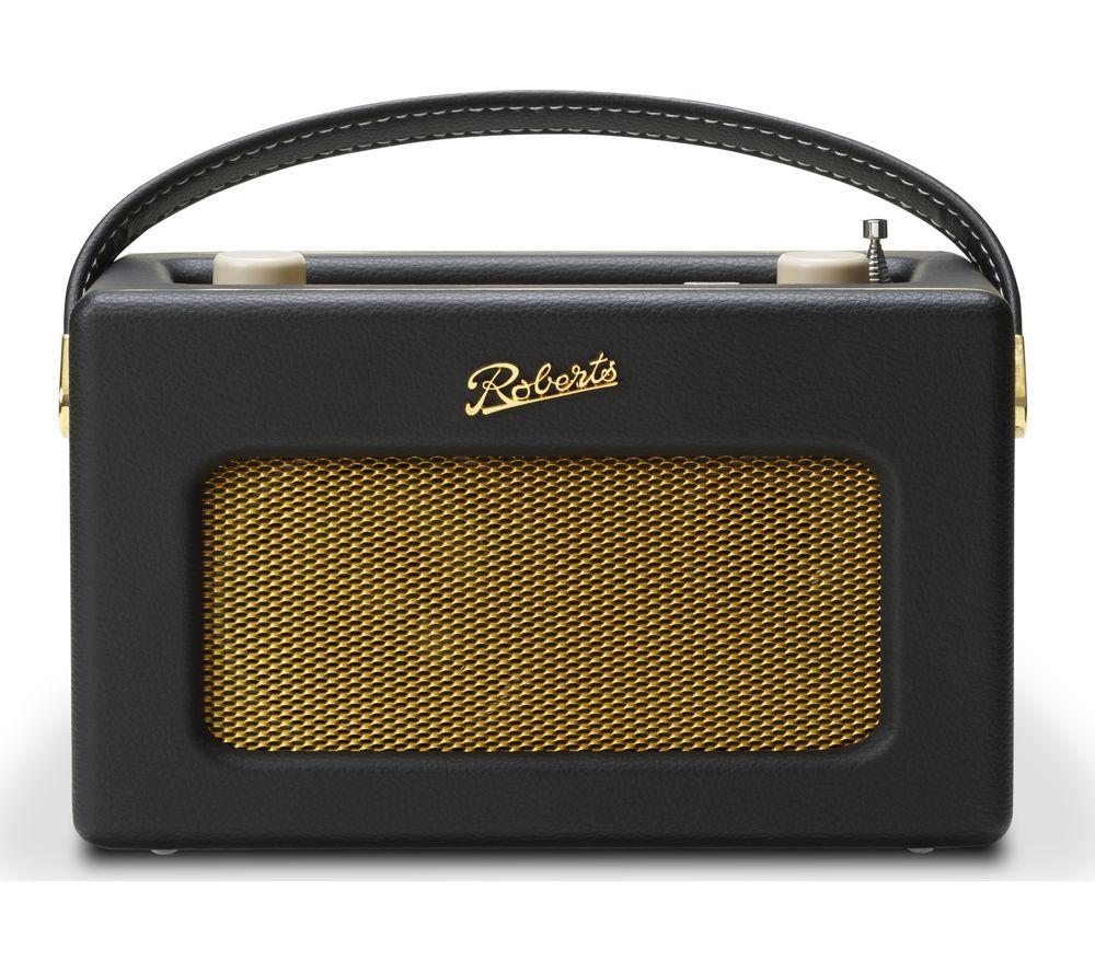 ROBERTS Revival iSTREAM3 Portable DAB+/FM Retro Smart Bluetooth Radio - Black