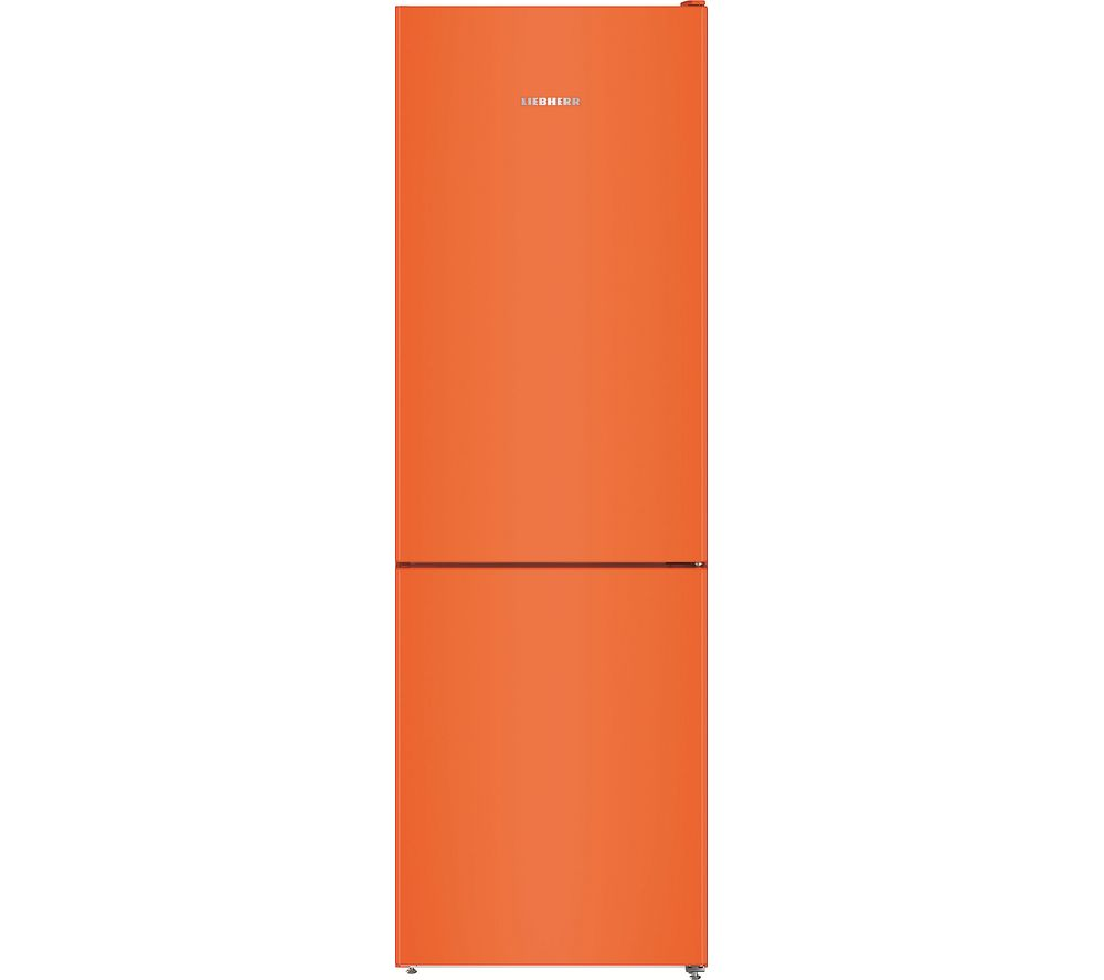 LIEBHERR CNno4313 60/40 Fridge Freezer - Orange, Orange