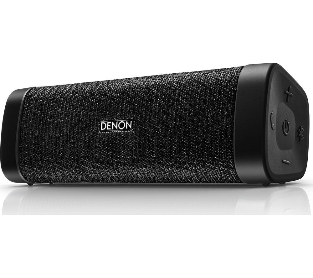DENON Envaya Mini DSB-150BT Portable Bluetooth Speaker - Black