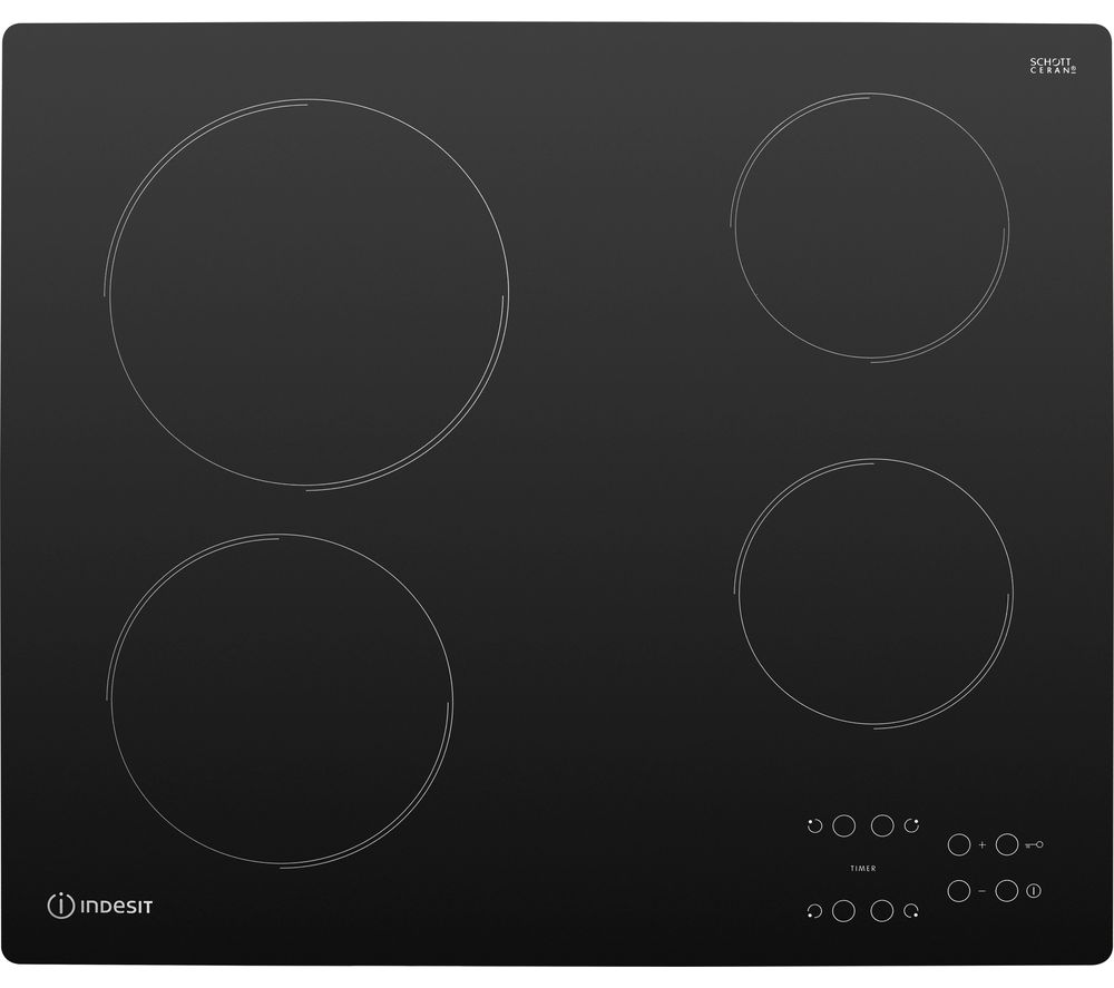 INDESIT AAR 160 C Electric Ceramic Hob - Black
