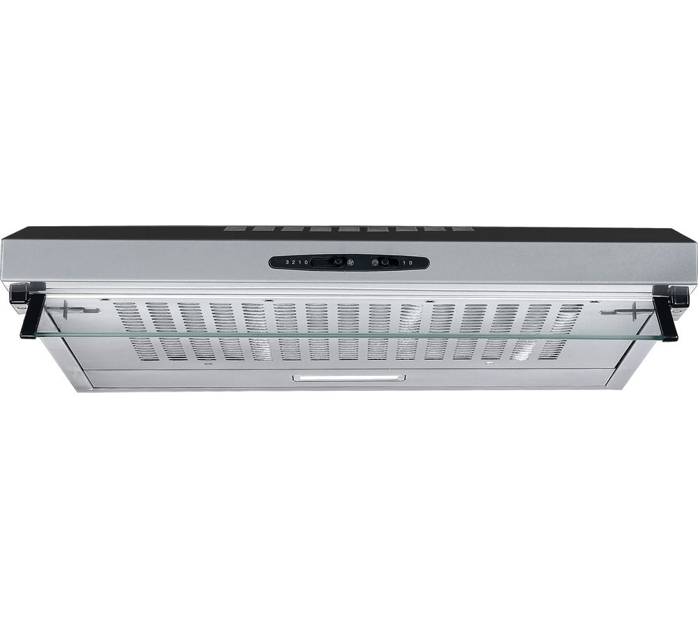 ESSENTIALS C60SHDX19 Visor Cooker Hood - Stainless Steel
