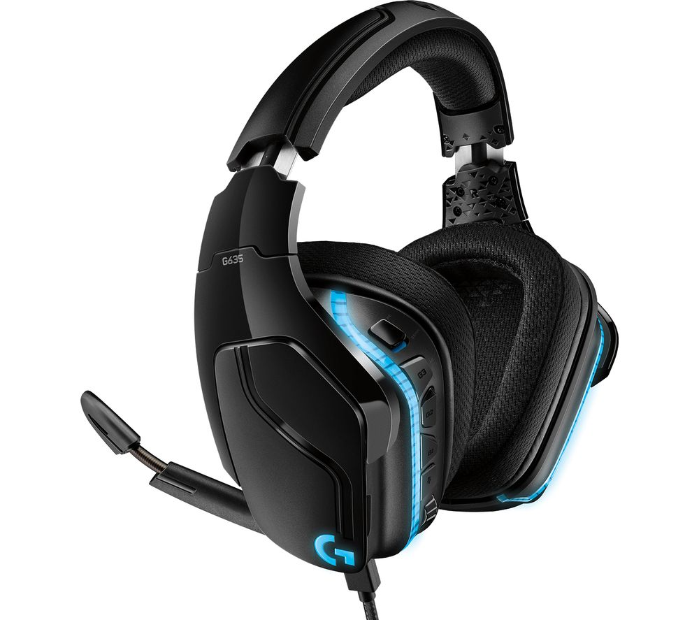 LOGITECH G635 7.1 Gaming Headset - Black