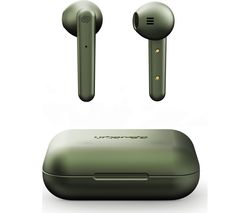 Stockholm Wireless Bluetooth Earphones - Olive Green