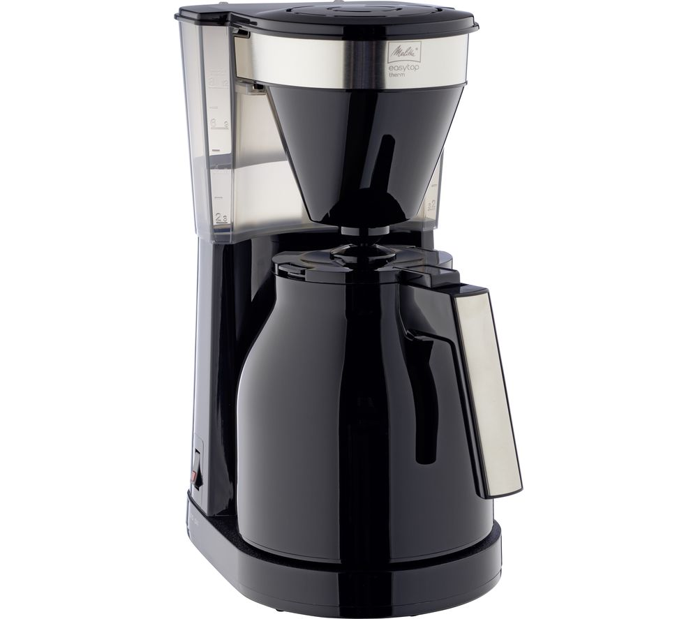 Image of Easy Top Therm II Filter Coffee Machine - Black, Black
