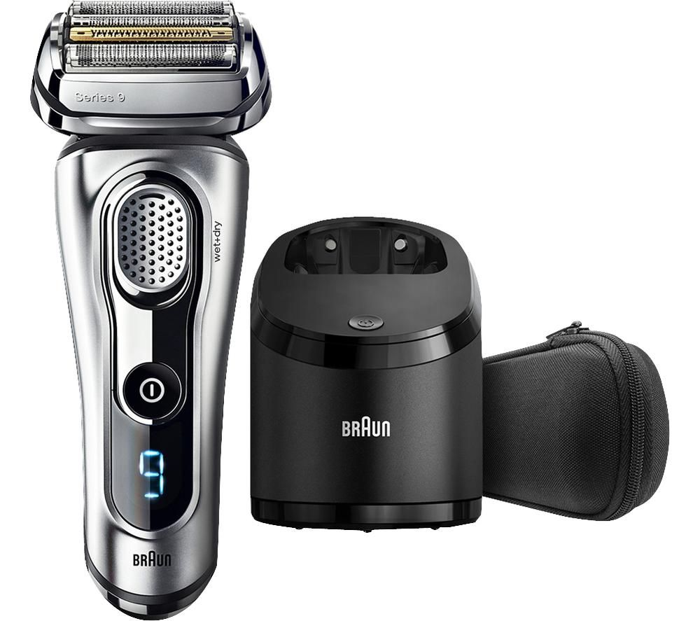 BRAUN Series 9 9292cc Wet & Dry Foil Shaver - Silver
