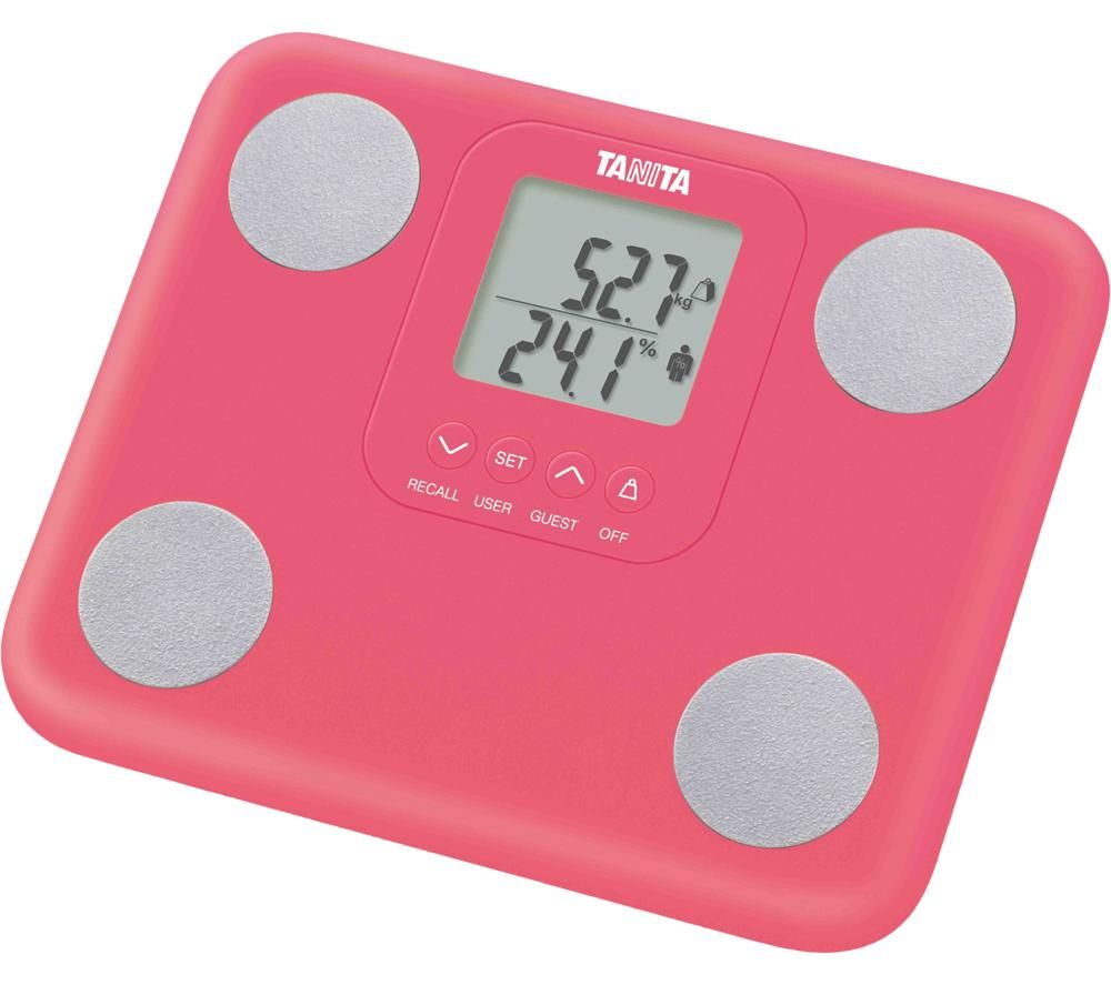 TANITA BC730 Innerscan Digital Bathroom Scale - Pink