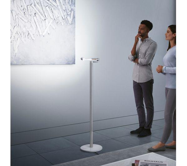 DYSON Lightcycle Morph Floor Light - White & Silver Fast ...