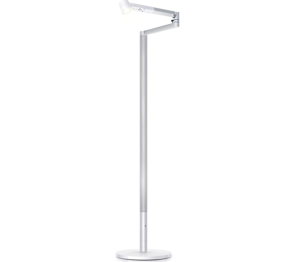 DYSON Lightcycle Morph Floor Light - White & Silver
