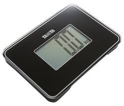 HD-386 Compact Bathroom Scale - Black
