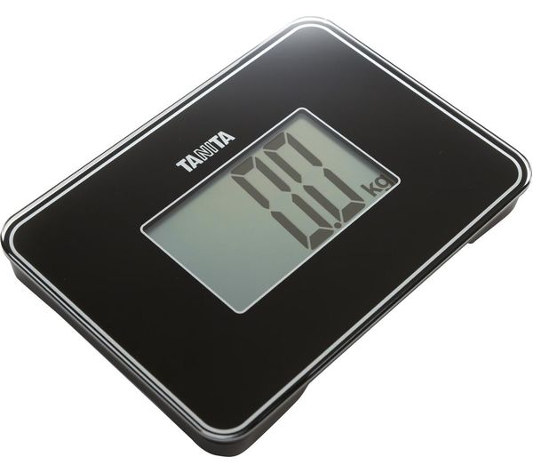 TANITA HD-386 Compact Bathroom Scale - Black