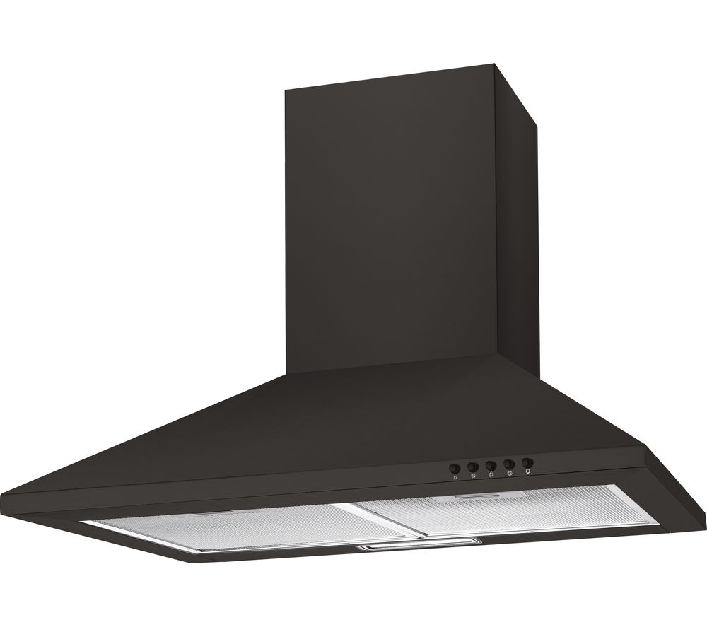 CANDY CCE60NN Chimney Cooker Hood - Black