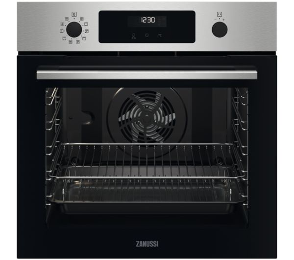 Image of ZANUSSI SelfClean ZOPNX6X2 Electric Oven - Stainless Steel